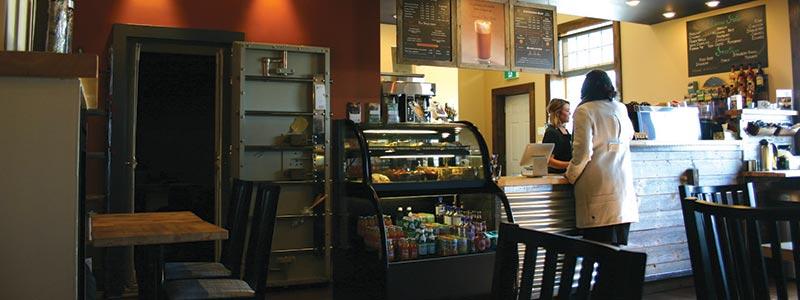 Bin 22 Coffee Company, Russell, Manitoba