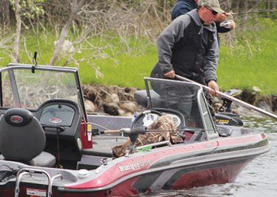 Fishing in the Asessippi Parkland region of Manitoba