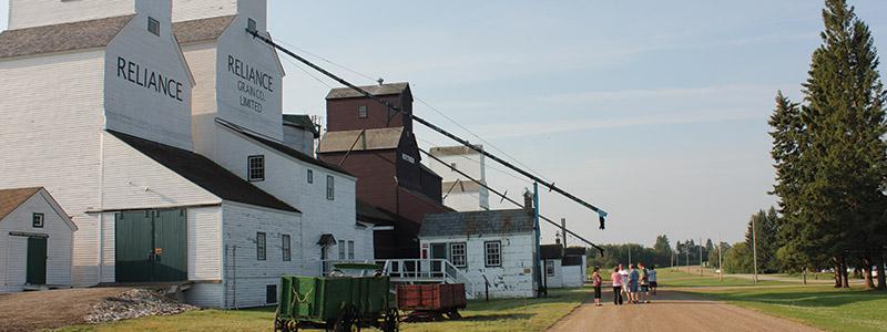 Inglis Grain Elevators National Historic Site, Inglis, Manitoba