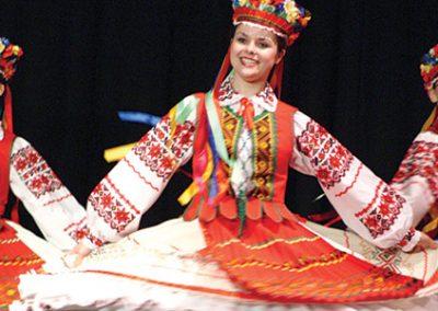 Ukrainian Dancers in the Asessippi Parkland region of Manitoba